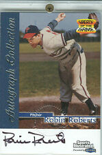 1999 Fleer Sports Illustrated Collection Robin Roberts Autographed Card
