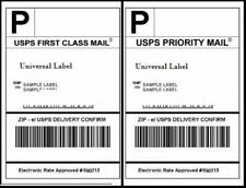 250 Shipping labels sheets, 2 lables per, 500 Total!