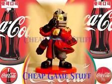 Final Fantasy X Coca Cola Figure ~ Auron 13 Painted new Chibi Color