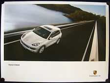 PORSCHE OFFICIAL CAYENNE S HYBRID MODEL OFFICIAL SHOWROOM POSTER 2010