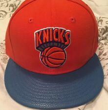 9d30ab95fda4b New York Knicks Orange Blue New Era NWT Size 7 Hat Cap NBA Hardwood Classics
