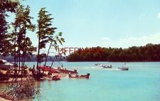 LAKE JAMES, N.C. at the foot of the Blue Ridge. Circa 1957
