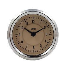 Smiths Calibrador De Reloj De Tiempo 60 mm en Magnolia & Cromo Para Coches Clásicos GAE128/60MG
