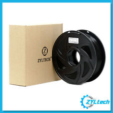 ZYLtech PLA 3D Printer Filament, 1.75 mm, 1 kg, 2.2 lbs- Matte Black