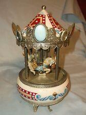 Willitts Design Tobin Fraley Carousel Waltz Music Box Needs Tlc