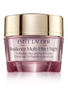 Estée Lauder Resilience Multi-Effect Night Tri-Peptide Face & Neck Creme .5 Oz