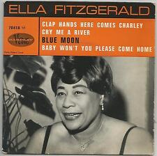 45 tours EP - ELLA FITZGERALD -  CLAP HANDS HERE COMES CHARLEY - 1969