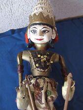 Marionnette 4 Wayang Golek - Java Indonésie - Non identifiée - Batik authentique