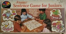 Scrabble Sentence Game for Juniors - Used. Vintage - #23