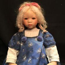 """Himstedt Kinder Doll """"Becki"""" Original box, Coa"""