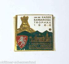 ADAC Plakette 1 Internationale Zielfahrt Schwäbisch Gmünd 1968