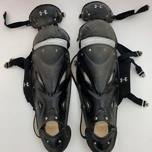 Under Armour UAWLG2 - AL Catcher's Leg Guards Adult Black