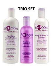 ApHogee Trio Set Two-Step Protein 473, Balancing Moist 237, Keratin Shampoo 355
