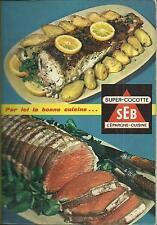 """Livre recettes """"SUPER-COCOTTE SEB"""" 9éme Edition"""