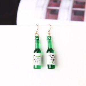 Green Bottle Summer Fashion Earrings