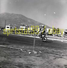 Dirt Motorcycle #500 Race Scene - California Motor Cross - Vintage Negative