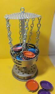 Desktop Bottle Cap Disc Golf Game Frisbee golf player gift