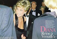 Coupure de Presse Clipping 1994 (6 pages) Diana Lady Di reine à Versailles