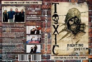 Carl Cooper's TOXIC Fighting System CORE STRIKING Self Defence Krav Maga MMA DVD