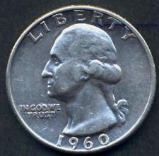 USA Washington Quarter 1960 D AG