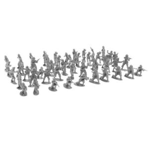 300 Pieces 2cm Soldiers Army Man Figures Sand Scene Accessories Sets Playset