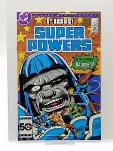 Super Powers #1 DC HIGH GRADE UNREAD WAREHOUSE FIND CGC worthy 9.6+ Darkseid!