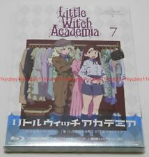 Little Witch Academia Vol.7 First Limited Edition Blu-ray Making Book Card Japan
