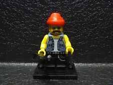 LEGO Mini Figure SERIES 10! MOTORCYCLE MECHANIC! Blind Bag Mystery 71001 2013