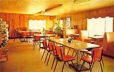 Chauncey GA Jump's Restaurant Interior View Juke Box Postcard