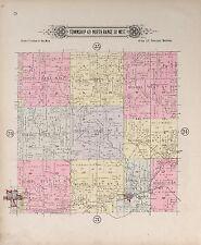 1904 Atlas Jackson County Missouri plat map old Genealogy history Land P118