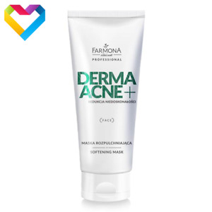 Farmona Professional Derma Acne Softening Face Cleansing Mask Oily Skin 200ml