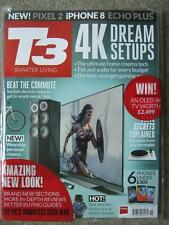 T3 magazine November 2017 4K Dream Setups Electric Bikes Turntables iPhone 8