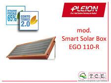 Solare termico PLEION mod. SMART SOLAR BOX EGO 110R circ. naturale  no Solcrafte