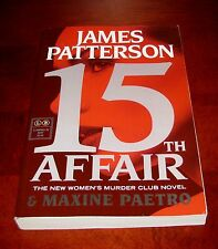 15th Affair, James Patterson**1st Edition Uncorrected Proof, Advance Copy (ARC)