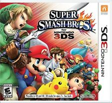 NINTENDO 3DS GAME SUPER SMASH BROS - BRAND NEW SEALED