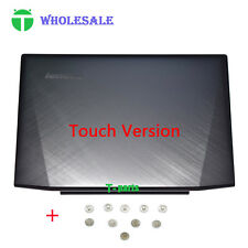 "New Lenovo Y50-70 15.6"" Top LCD Back Cover Rear Lid Touch AM14R000300 + Screws"