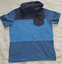 Boy's Blue T Shirt with roll neck by George for age 6-7yrs
