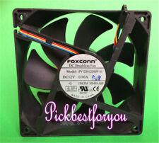 FOXCONN PV123812DSPF 01 Fan 12CM 12V 0.90A 120*120*38mm 4pin #M318 QL