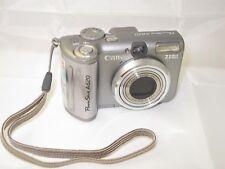 Canon PowerShot A620 7.1MP Digital Camera w/ underwater waterproof case WP-DC90