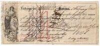 CIVIL WAR 1864 FIRST OF EXCHANGE $2400, Havana