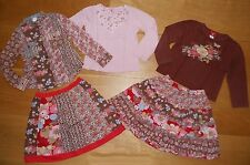 Room Seven Holland 5pcs Set skirts, longsleeves, blouse size 6/7 years