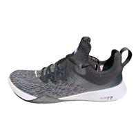 Nike Womens Foundation Elite TR AJ8154-001 Black Gray Sneaker Athletic Shoes 10