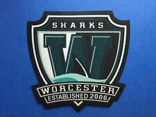 Worcester Sharks AHL Hockey Iron On Shoulder Jersey Patch Crest