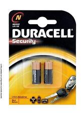 2 PILE BATTERIA DURACELL MICROSTILO SECURITY 1.5V ALCALINA N (MN9100/LR1/KN)