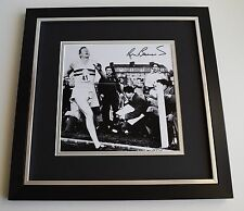 Roger Bannister SIGNED Framed LARGE Square Photo Autograph display Athletics COA