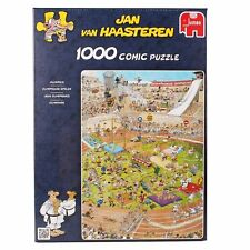 Jan van Haasteren - The Olympics 1000 Piece Jigsaw Puzzle NEW JUMBO GAMES