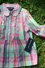 Ralph Lauren Girls' Long Sleeve Sleeve 100% Cotton Shirts & Blouses (2-16 Years)