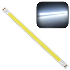 1x Super Bright 10W 1000LM COB LED Strip Light Lamps Pure White 20*1CM 12 - 14V