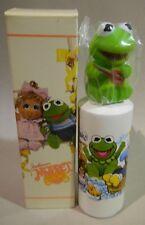 Rare Avon muppet babies finger puppet baby Kermit non tear shampoo NWB 4 fl oz