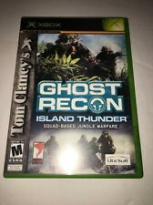Tom Clancy's Ghost Recon Island Thunder - Xbox-Tested Collectible Vintage